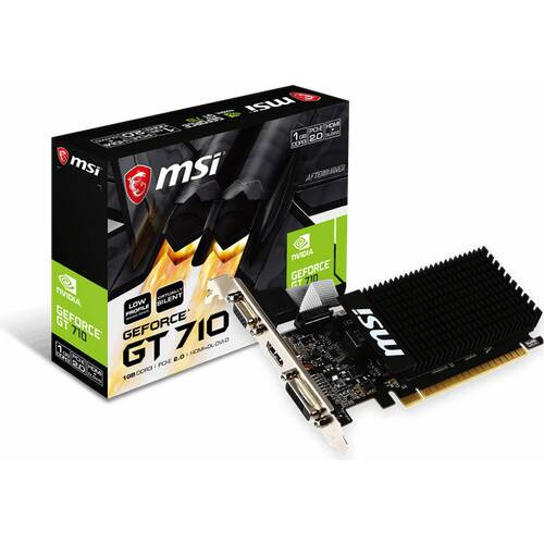msi GT710-1GD3HLP GeForce GT 710搭載 PCI Express x16(2.0)対応 グラフィックボード Lowprofile対応:九州・博多・天神近辺でPCをパーツ買うならツクモ福岡店!