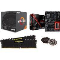 AMD Ryzen7 2700 お買得限定パック (YD2700BOX/B450ATX/COR29338GX2) ※夏の市!! 《送料無料》