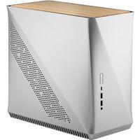 Fractal Design Era ITX Silver - White Oak FD-CA-ERA-ITX-SI アルミニウム外装 Mini-ITXケース 天板ホワイトオーク柄パネル:関西・大阪・なんば・日本橋近辺でPCをパーツ買うならツクモ日本橋!