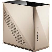 Fractal Design Era ITX Gold - TG FD-CA-ERA-ITX-CHP アルミニウム外装 Mini-ITXケース 強化ガラスパネル天板:関西・大阪・なんば・日本橋近辺でPCをパーツ買うならツクモ日本橋!