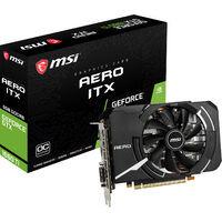 GeForce GTX1660Ti AERO ITX 6G OC GeForce GTX 1660 Ti搭載 PCI Express x16(3.0)対応 グラフィックボード
