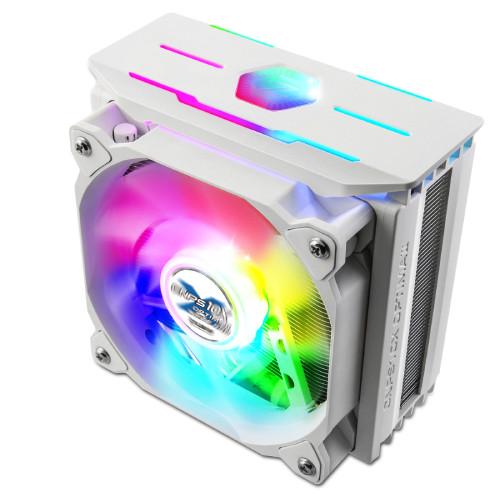 ZALMAN ザルマン CNPS10X OPTIMA II WHITE RGB RGB LED付デュアルブレードファン採用 スリムサイドフローCPUクーラー:関西・大阪・なんば・日本橋近辺でPCをパーツ買うならツクモ日本橋!