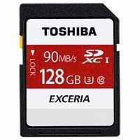 EXCERIA THN-N302R1280A4 EXCERIA N302 読込最大90MB/s UHS-I Class10 SDXCカード