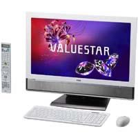 【クリックで詳細表示】VALUESTAR W VW770/FS6W PC-VW770FS6W (ファインホワイト) 《送料無料》