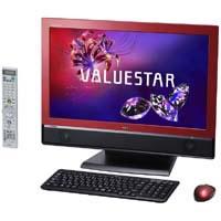 【クリックで詳細表示】VALUESTAR W VW770/FS6R PC-VW770FS6R (クランベリーレッド) 《送料無料》