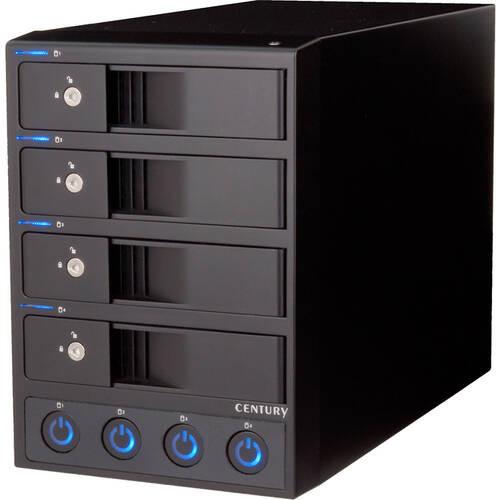 裸族のカプセルホテル Ver.2 (CRCH35U3IS2) SATA HDDを最大4台搭載可能! 独立電源スイッチを搭載した外付けケース!
