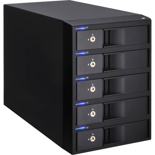 センチュリー 裸族のインテリジェントビル5Bay USB3.0+eSATAコンボ Ver.2 (CRIB535EU3V2)