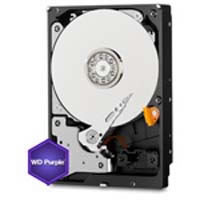WD40PURX-RT2 WD Purple 3.5インチ SATA 6Gbps 1.33TBプラッタ採用
