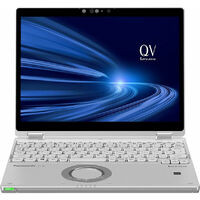 Panasonic パナソニック CF-QV9HDGQR   Let's note QV9 (シルバー) Core i5 Windows10 Pro 12型タッチパネル搭載ノートPC Office Home & Business 2019プリインストール:関西・大阪・なんば・日本橋近辺でPCをパーツ買うならツクモ日本橋!
