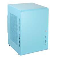 Qbee 03-MINT BLUE Mini-ITX / Mini-DTX専用 で背の高いCPUクーラーも取付可能なPCケース