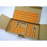 REALFORCE 108専用 キートップセット(オレンジ) SA0100KT5