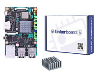 ASUS Tinker Board S (TKASUSTB001S) カードサイズの基板にARMベース プロセッサRockchip RK3288とGPU Mali-T764を搭載したASUS Tinker Boardの上位版シングルボードコンピュータ:九州・博多・天神近辺でPCをパーツ買うならツクモ福岡店!