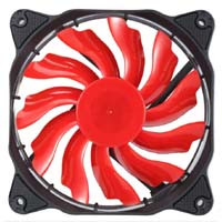 JONSBO SE-120RD (レッド) Solar Eclipse(日食)シリーズ  12cm LED FAN:九州・博多・天神近辺でPCをパーツ買うならツクモ福岡店!