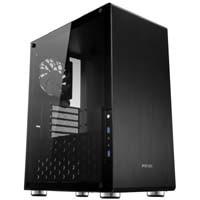 JONSBO U4 BK (Black) サイドプレートに5.0mmのガラスを搭載したPCケース:九州・博多・天神近辺でPCをパーツ買うならツクモ福岡店!