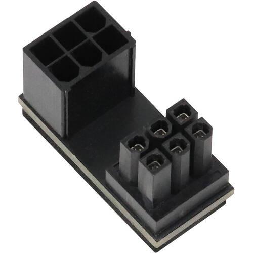 AINEX アイネックス PX-PCIE6CO PCI Express用電源変換アダプタ C字型 6ピン上ラッチ用:関西・大阪・なんば・日本橋近辺でPCをパーツ買うならツクモ日本橋!