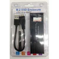 M.2 SSD Enclosure (M2-2280)