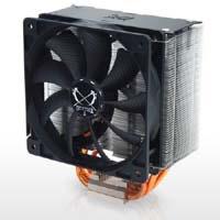虎徹(SCKTT-1000) ユニバーサル対応、ブリッジ式リテンション、ナローフィン、多重エアフロー透過構造採用