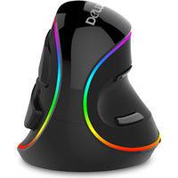 M618PLUS Delux社のエルゴノミクスデザインマウス RGB LED搭載