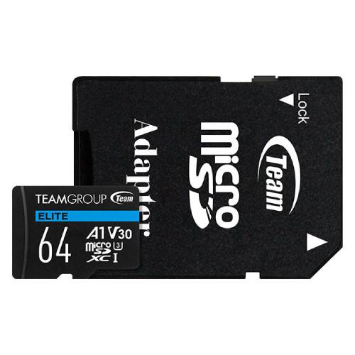 Team TEAUSDX64GIV30A103 ELITE A1 Card Micro SDXC UHS-I U3:関西・大阪・なんば・日本橋近辺でPCをパーツ買うならTSUKUMO BTO Lab. ―NAMBA― ツクモなんば店!