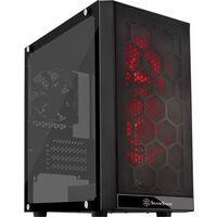 SilverStone SST-PS15B-RGB (ブラックボディー、RGB ファン +強化ガラス製ウィンドウ)
