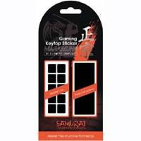 Gaming Keytop Sticker SAMURAI 正宗 SK10BK キートップ用 グリップステッカー
