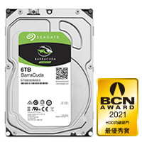 ST6000DM003_SP BarraCuda 3.5インチHDD SATA6Gb/s 6TB