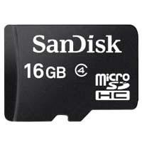 SDSDQAB-016G-BULK MicroSDHC class4 UHS-1 SD変換アダプタ付き