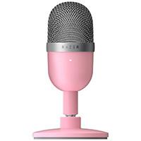 Razer レイザー Seiren Mini - Quartz Pink RZ19-03450200-R3M1 USB接続式 コンパクト設計 スタンドマイク:関西・大阪・なんば・日本橋近辺でPCをパーツ買うならツクモ日本橋!