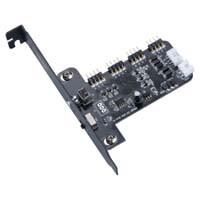 アイネックス AK-RLD-02 RGB LED 4分岐&制御カード:九州・博多・天神近辺でPCをパーツ買うならツクモ福岡店!