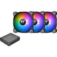 Pure Plus 12 RGB Radiator Fan TT Premium Edition 3Pack CL-F063-PL12SW-A ※夏の市!! 《送料無料》