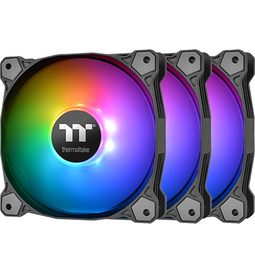 Pure Plus 14 RGB Radiator Fan TT Premium Edition 3Pack CL-F064-PL14SW-A ※ウィンターボーナスSALE! 《送料無料》