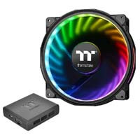 Riing Plus 20 RGB Radiator Fan TT Premium Edition With Controller CL-F069-PL20SW-A 《送料無料》