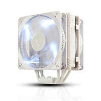 ENERMAX ETS-T40F-W Cluster Advance PWMタイプ120mmファンを2基搭載 White LED:九州・博多・天神近辺でPCをパーツ買うならツクモ福岡店!