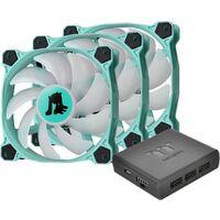Thermaltake Pure Plus RGB 12 Hatsune Miku Edition CL-F099-PL12SW-A カスタマイズ可能なRGB LED搭載 120mm径ファンの3個パック 「初音ミク」コラボレーション限定モデル:関西・大阪・なんば・日本橋近辺でPCをパーツ買うならツクモ日本橋!