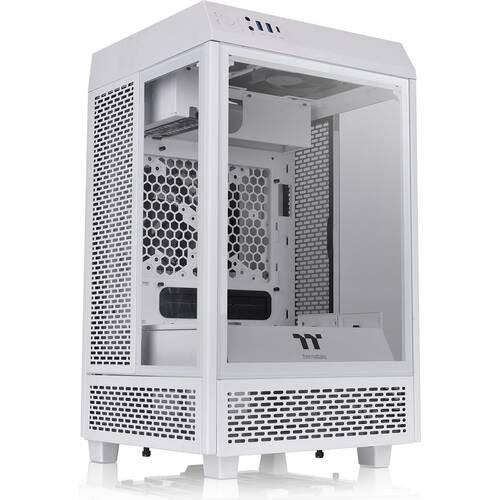Thermaltake The Tower 100 Snow CA-1R3-00S6WN-00 3面強化ガラスパネル採用 ショーケース型Mini-ITXケース:関西・大阪・なんば・日本橋近辺でPCをパーツ買うならツクモ日本橋!