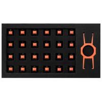 EPICGEAR EG Switch Orange 24 Pack (EGKFE1-OBAA-AMSG) EpicGear DeFiant用交換用キースイッチの24個セット:九州・博多・天神近辺でPCをパーツ買うならツクモ福岡店!