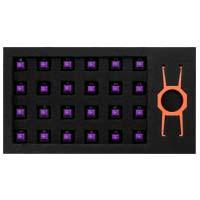 EPICGEAR EG Switch Purple 24 Pack (EGKFE1-PBAA-AMSG) EpicGear DeFiant用交換用キースイッチの24個セット:九州・博多・天神近辺でPCをパーツ買うならツクモ福岡店!