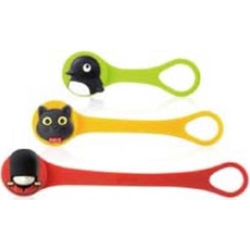 AREA Q Cord Ties ペンギン・キャット・クィーン (LF14062-C) 高品質なシリコンで作り上げたケーブルキーパー (3種類入り):九州・博多・天神近辺でPCをパーツ買うならツクモ福岡店!