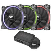 Riing 12 LED RGB TT Premium Edition 3-Fan Pack (CL-F049-PL12SW-A) 《送料無料》