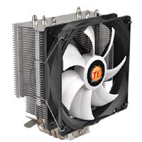 Thermaltake Contac Silent 12 CL-P039-AL12BL-A 6mm径の銅製ヒートパイプを4本搭載のサイドフロー型CPUクーラー:九州・博多・天神近辺でPCをパーツ買うならツクモ福岡店!