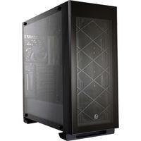 Alpha 330 BLACK 3面強化ガラス構造 E-ATXもサポートするミドルタワーケース