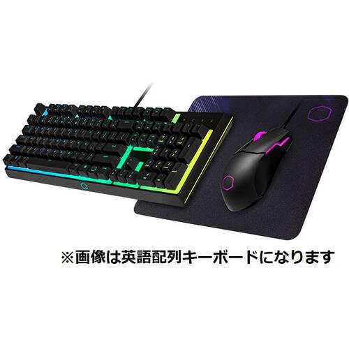 CoolerMaster クーラーマスター Keyboard Combo MS112 MS-110-KKMF2-JP ゲーミングキーボード + マウス + マウスパッド 3点セット:関西・大阪・なんば・日本橋近辺でPCをパーツ買うならツクモ日本橋!