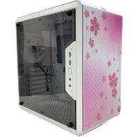 CoolerMaster Q500L Sakura Edition with V750 Semi (MCB-Q500L-KANA75-SJP) 桜デザイン&80PLUS GOLD認証 750W電源搭載PCケース:関西・大阪・なんば・日本橋近辺でPCをパーツ買うならツクモ日本橋!