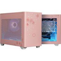 CoolerMaster クーラーマスター MasterBox NR200P Sakura Limited Edition MCB-NR200P-WGNN-SJP 桜をモチーフにカスタムしたMini-ITX/Mini-DTX PCケース 2021年数量限定モデル:関西・大阪・なんば・日本橋近辺でPCをパーツ買うならツクモ日本橋!