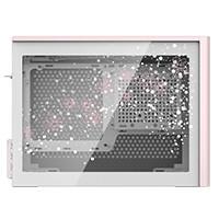 CoolerMaster クーラーマスター NR200P White Sakura TG side panel MCA-NR200C-TGSP00 桜モチーフ版 Mini-ITX/Mini-DTX対応PCケース 強化ガラス製サイドパネル:関西・大阪・なんば・日本橋近辺でPCをパーツ買うならツクモ日本橋!