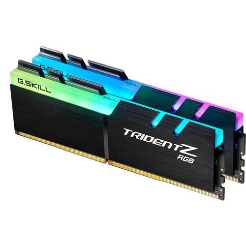 G.SKILL Trident Z RGB F4-3200C16D-16GTZR Trident Z RGB DDR4-3200 16GB(8GBx2枚組) 288pin:関西・大阪・なんば・日本橋近辺でPCをパーツ買うならTSUKUMO BTO Lab. ―NAMBA― ツクモなんば店!