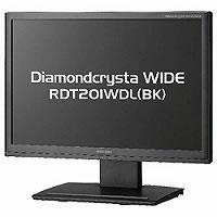 【クリックでお店のこの商品のページへ】Diamondcrysta WIDE RDT201WDL(BK) 《送料無料》