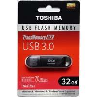 TransMemory-MX 32GB(V3SZK-032G-BK) USB3.0 フラッシュメモリ 海外パッケージ品