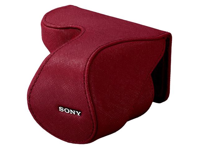 【クリックでお店のこの商品のページへ】SONY レンズジャケット LCS-EML2A R 《送料無料》