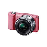 Alpha 5000 ILCE-5000L power zoom lens Kit (Pink) ILCE5000LP